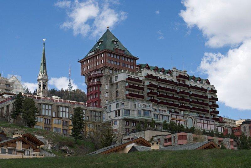 Palace hotel v St. Moritzu