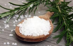 Ali je sol tako škodljiva kot sladkor?