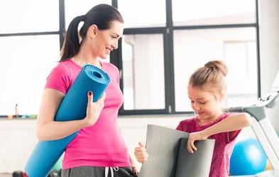 Nasveti za starše, ki se želijo spet lotiti telovadbe