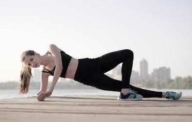 Vadba z lastno telesno težo za utrjevanje in boljšo pripravljenost