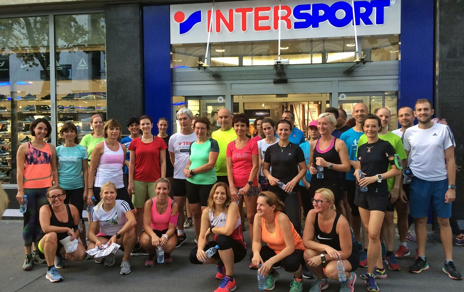Priprave na Ljubljanski maraton z Adidasom in Intersportom (foto: Promocijsko gradivo)