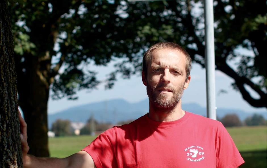 Boris Ivanovič teče vsak dan že od februarja 2011 (foto: GORAN ANTLEY)