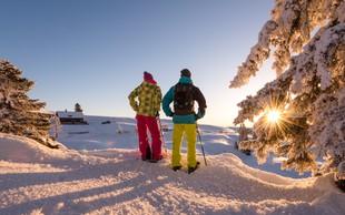 Zimski užitek in termalna zabava na sončni južni strani Alp