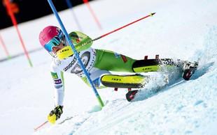 Motivacije alpski smučarki Maruši Ferk ne manjka!