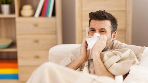 Ko moški zbolimo, doživljamo čudaško specifične stvari (foto: Shutterstock)