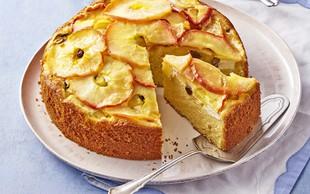 Jabolčna torta z maskarponejem