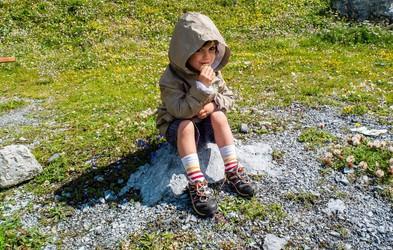 Lumpi tekovadba: Z otroki na pohod! Katera pravila veljajo v gorah?