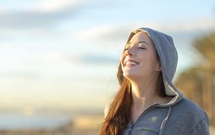 Zakaj nas zaboli, ko vdihnemo hladen zrak?