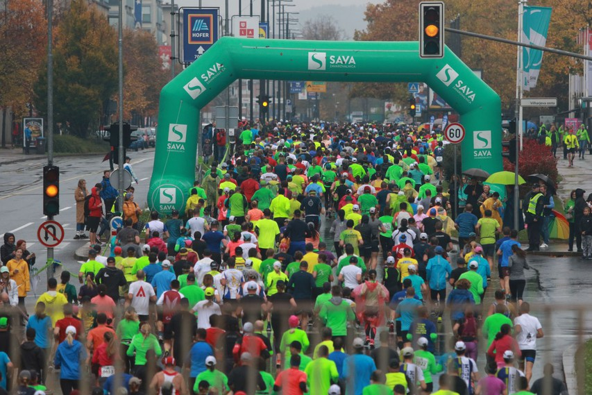 23. Ljubljanski maraton skozi perspektivo Mercatorjevih tekačev #foto