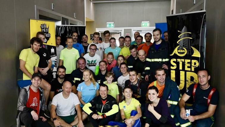 5. Alive Step Up - Pridružite se teku po stopnicah na najvišjo stavbo v Sloveniji! (foto: zasebni arhiv)