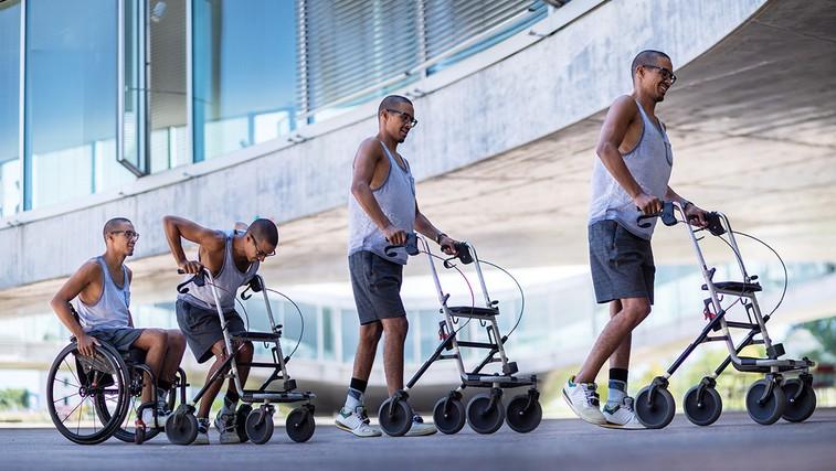 Wings for Life World Run: Trije pacienti s kronično paraplegijo so znova shodili (video) (foto: Wings for Life World Run)