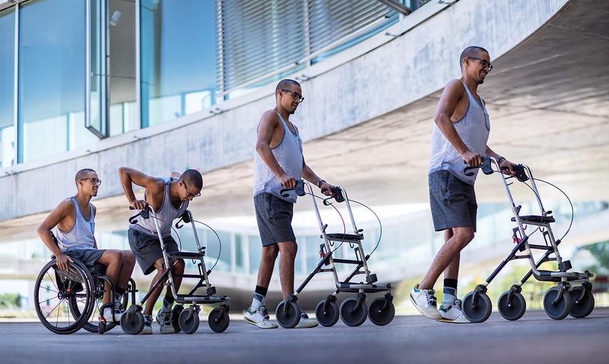 Wings for Life World Run: Trije pacienti s kronično paraplegijo so znova shodili (video)