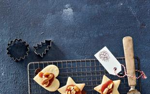 Linški piškoti s karamelo in arašidi