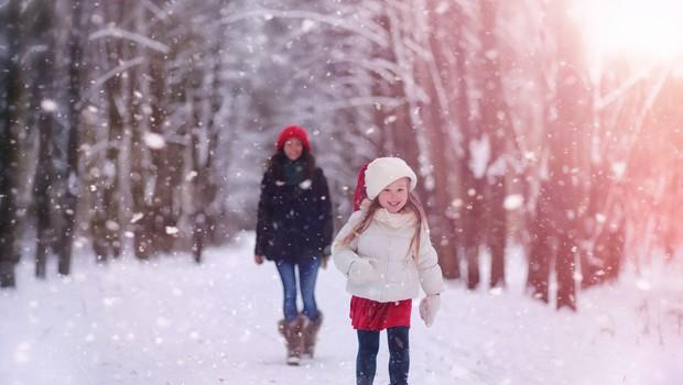 5 idej za zimski sprehod z belimi angelčki