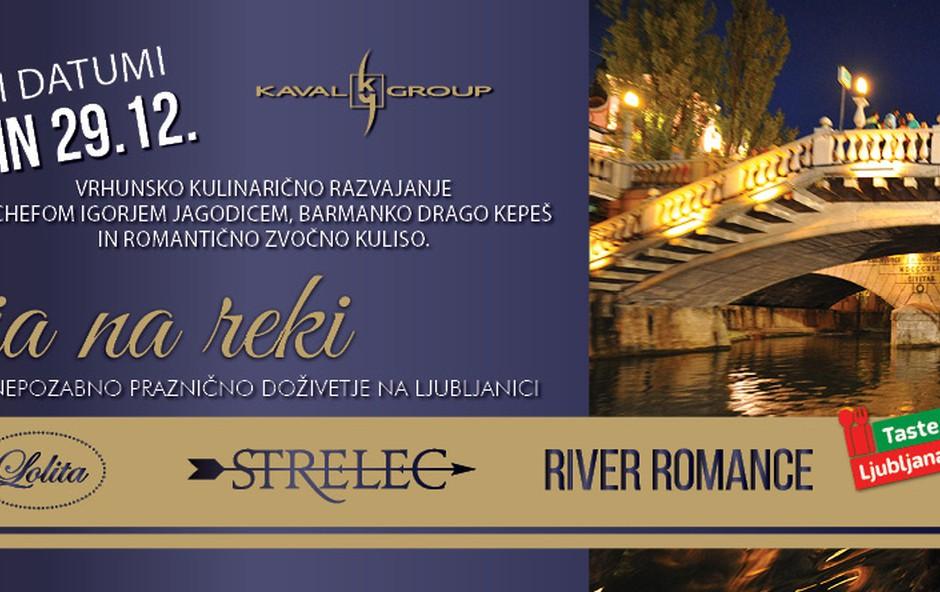 Kulinarična večerja na reki z Igorjem Jagodicem in Mojmirjem Šiftarjem (foto: Promocijsko gradivo)