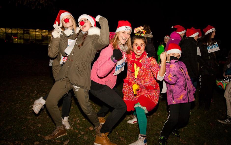 Koliko Božičkov bo letos teklo v Tivoliju? (foto: Špela Bokal)