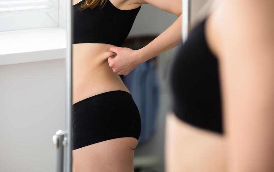 Če poskušate shujšati in se hitro znebiti odvečnih maščobnih blazinic, ne verjemite temu mitu (foto: Profimedia)