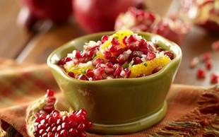 Slasten recept: Zimska sadna salsa s cimetovim čipsom