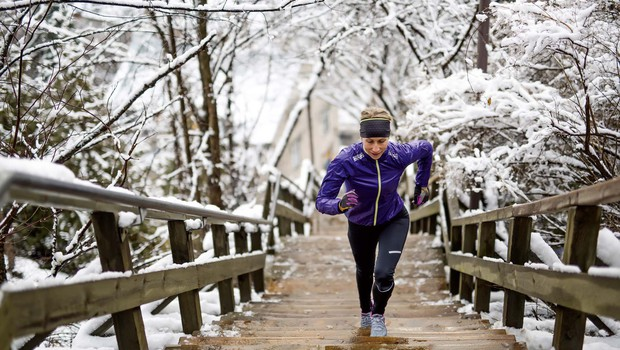 Z vadbo proti mrazu in depresiji (foto: Shutterstock)