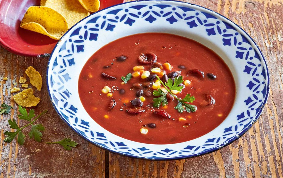 Mehiška paradižnikova juha (foto: Profimedia)