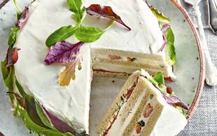 Švedska kruhova torta z lososom