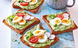 Avokadovo-jajčni namaz