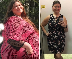 FOTO: 4 izjemne preobrazbe, ki so pravi navdih (skupaj jim je uspelo izgubiti več kot 250 kg!)