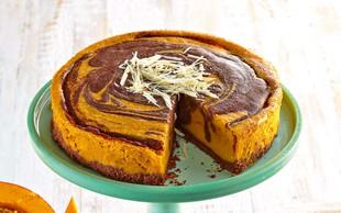 Marmorna bučna torta
