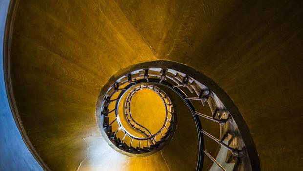 Slavna spiralna stopnišča (foto: Profimedia)