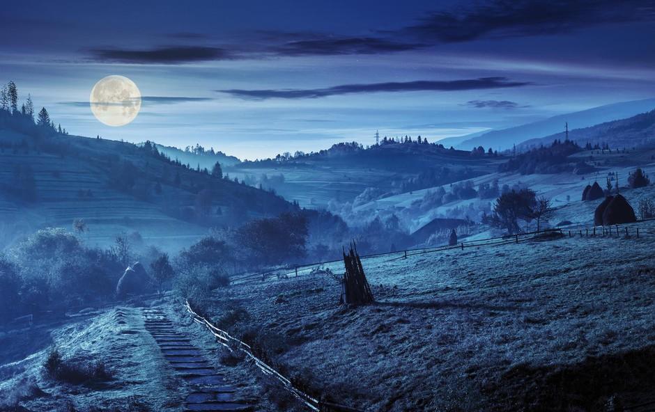 Zakaj bi se morali odpraviti na sprehod v soju polne lune (foto: profimedia)