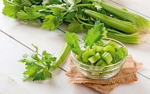 Ne pozabite na zeleno, saj je odlična za zdravje
