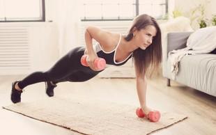 Vam 5 minut telovadbe na dan res lahko koristi?