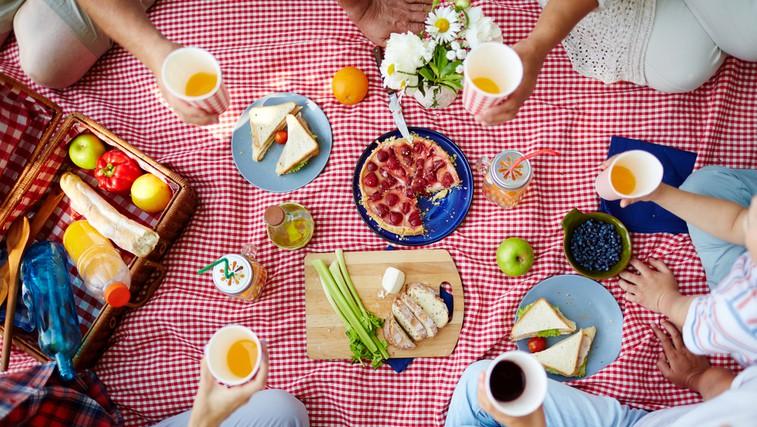 4 ideje za TOP piknik v naravi