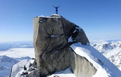Slovenska alpinista prva osvojila 3 vrhove Aljaske