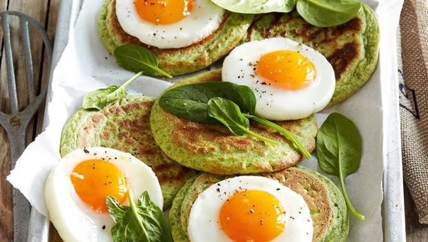 Špinačne palačinke z jajci (foto: Profimedia)