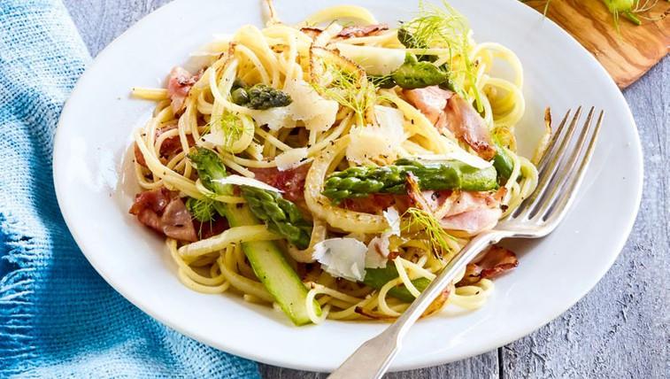Špageti s koromačem in beluši (foto: Profimedia)