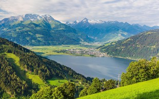 Zell am See: Gore in jezero