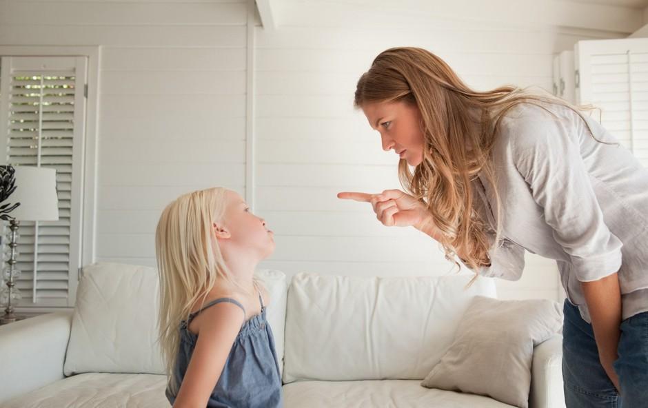 Kako odgovoriti na otrokovo grdo vedenje? (in česa raje ne storite) (foto: profimedia)