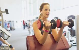 Ženske, ne izpuščajte treninga za roke