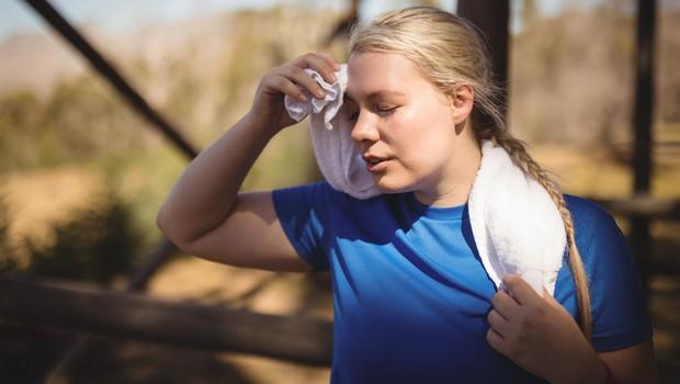 Zakaj poleti telovadim slabše kot običajno? (foto: profimedia)