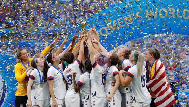 Američanke četrtič postale svetovne prvakinje v nogometu (foto: Profimedia)