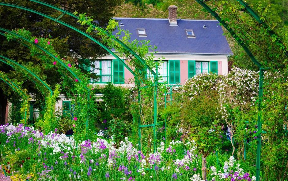 Želite dopustovati v hiši Clauda Moneta v kraju Giverny? (foto: Profimedia)