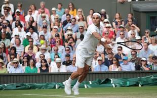 Roger Federer sam v klubu 100, Bautista Agut odpovedal fantovščino
