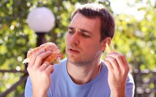 Moški, hitra hrana pobija vaše spermije!