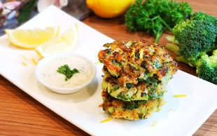 Brokolijeve polpete - odlično kosilo, večerja ali prigrizek za na pot