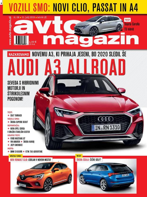 Izšel je novi Avto magazin! (foto: Avto magazin, proizvajalci)