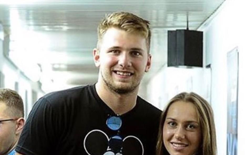 Luka Dončič in Kaja Juvan skupaj v Umagu (foto: Instagram Kaja Juvan)