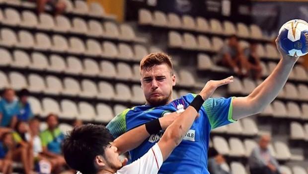 Mladi slovenski rokometaši brez poraza na svetovnem prvenstvu do 21 let (foto: RZS)