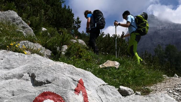 Slovenska planinska pot je zelo zahtevna obhodnica. (foto: Manca Ogrin)