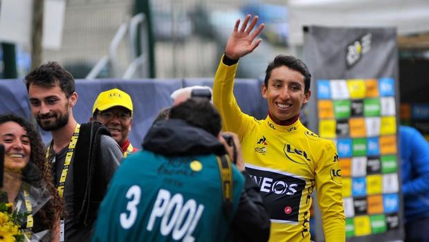 Dirko po Franciji osvojil mladenič iz Kolumbije - Egan Bernal (foto: Profimedia)